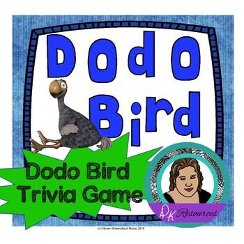 Dodo Bird Game - Learn About the Dodo Bird and Have Fun, G
