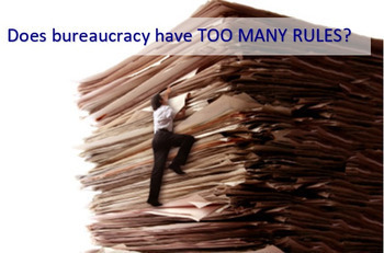 AP GOV Does Bureaucracy have too many rules? A student simulation / game