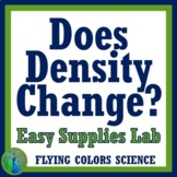 Does Density Change with Size?  Middle School Lab - EASY SUPPLIES!