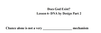 Does God Exist? Lesson 6