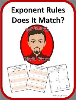 Does It Match: Rules of Exponents