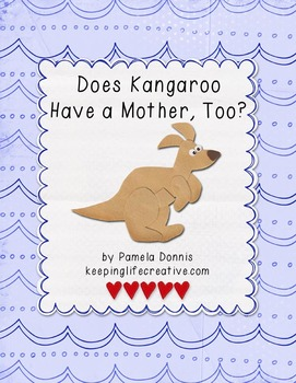 Does Kangaroo Have a Mother, Too {Felt Story Set}