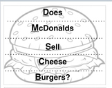 Does McDonalds Sell CheesBurgers long division