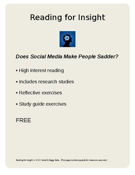 Does Social Media Make People Sadder?