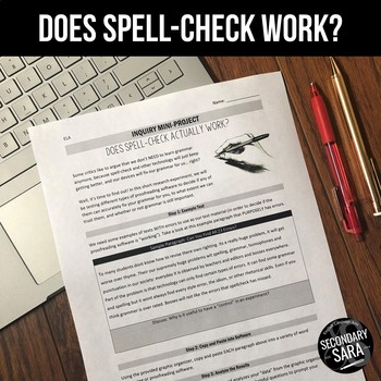 Does Spell-Check Really Work? An English Class Activity