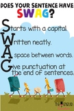 Does Your Sentence Have SWAG - Class Poster