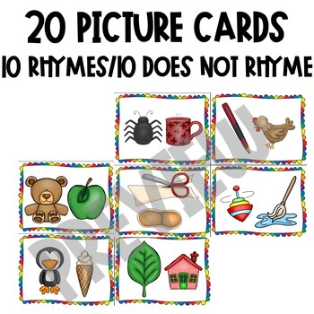 Does it Rhyme? A rhyming sort for beginners