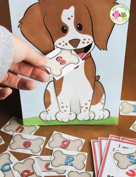 Dog Activities BUNDLE for Preschool and Kindergarten:  Math and Literacy Fun
