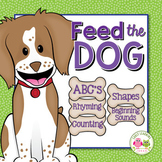 Dog Activities for Preschool and Kindergarten:  Feed the Dog