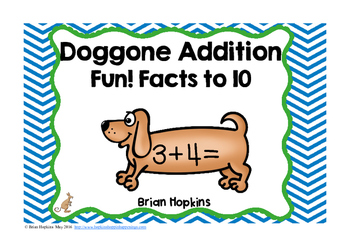 Dog Addition Facts to 10