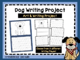 Dog Art & Writing Project - Dog Bulletin Board - Pet Report
