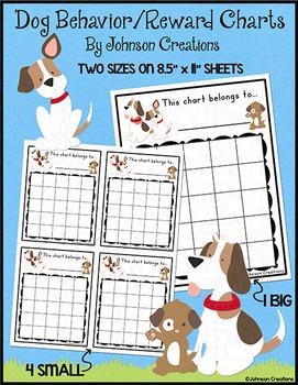 Dog Behavior / Reward Charts