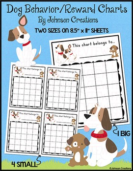 Dog Behavior / Reward Charts