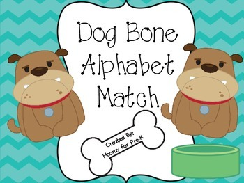 Dog Bone Alphabet Match