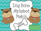 Dog Bone Alphabet Match