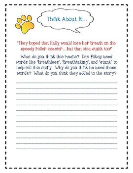 Dog Breath by Dav Pilkey-A Complete Book Response Journal