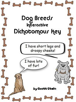 Dog Breeds Interactive Identification Game - Dichotomous K