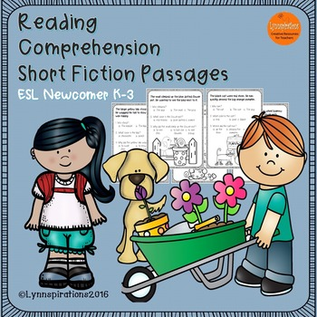 ESL Newcomer: Just for Fun!- Reading Comprehension Passage