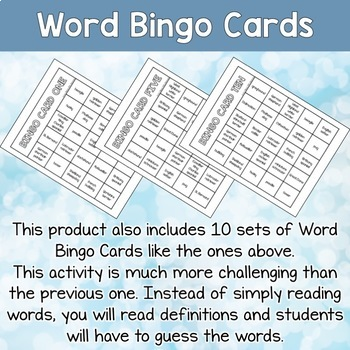 Dog Breeds ESL Activities Bingo Cards