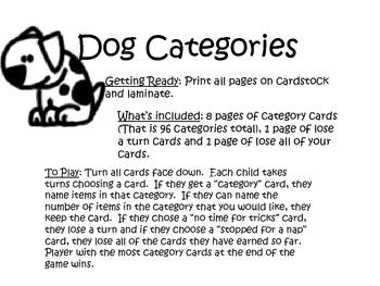 Dog Categories