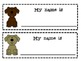 Dog Theme Classroom Pack- Name Tags, Birthday Pups and Alp
