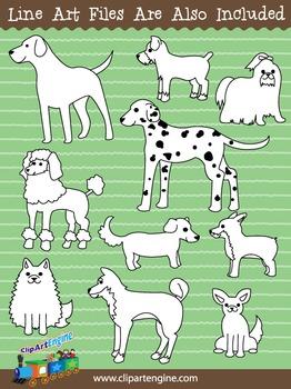 Dog Clip Art Collection