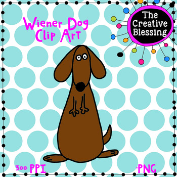 Wiener Dog Clip Art