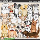 """Dog Clip Art: """"My Kinda Dog"""""""