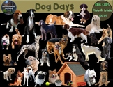 Dog Clip Art Real Clips Photo & Artistic 68 image Set