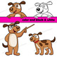 Dog Clip Art Set (Small)