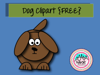 Dog Clipart {FREE}