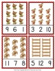 Dog Count and Clip Cards Numbers 1-12