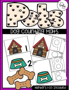 Dog Counting Mats