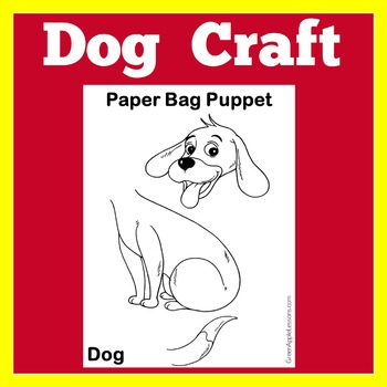 Dog Craft Worksheet | Puppy