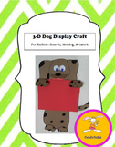 Dog Craft - for Writing, Bulletin Boards,or Art