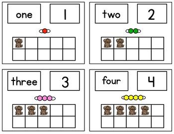 Dog Days Math Center Fun / Montessori Style / Hands-on Activities