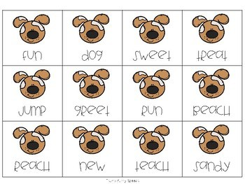 Dog Days - Parts of Speech and Rhyming Activities