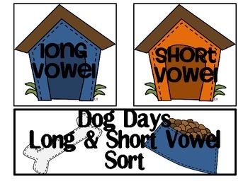 Dog Days Short & Long Vowel Sort