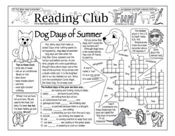 Dog Days of Summer Puzzle Set