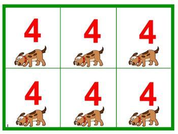 Dog Daze Multiplication Card Game
