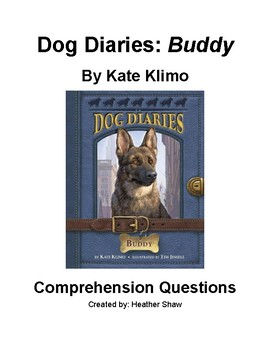 Dog Diaries: Buddy