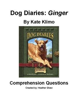 Dog Diaries: Ginger