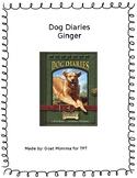 Dog Diaries Ginger Novel Literature Guide
