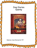 Dog Diaries- Sparky Novel Literature Guide