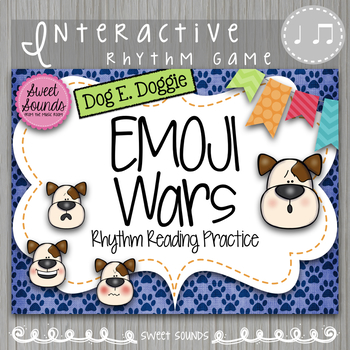 Dog E Doggie Emoji Wars Ta Titi Tadi {Interactive Rhythm Game}