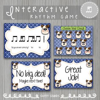 Dog E Doggie Emoji Wars Takadi Tiriti {Interactive Rhythm Game}
