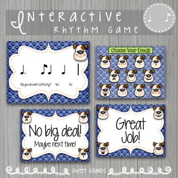 Dog E Doggie Emoji Wars Tie Di Ta Di {Interactive Rhythm Game}