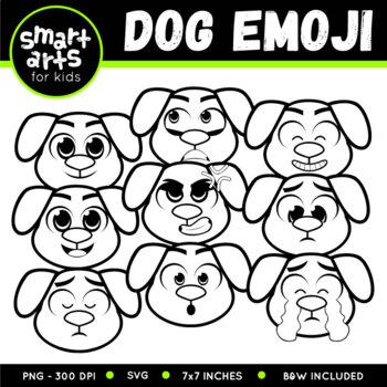 Dog Emoji Clip Art