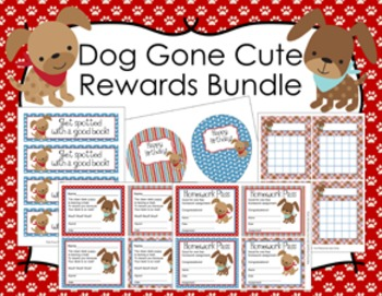 Dog Gone Cute Puppy Incentive Rewards Bundle