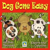 Dog Gone Easy - Paper Plate Craft